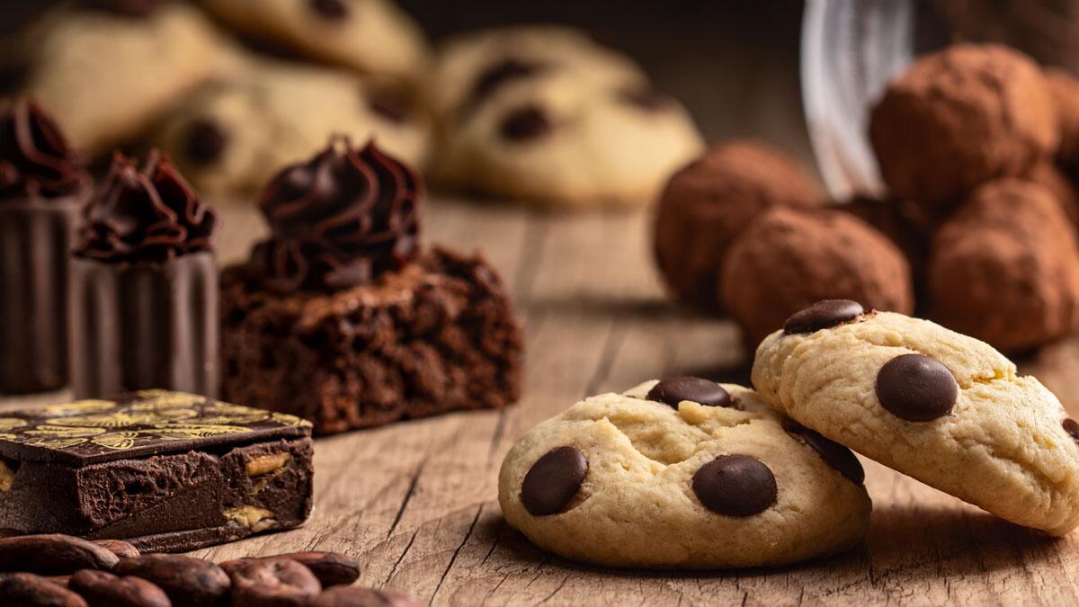 Cookies decorados e doces